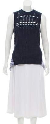Veronica Beard Sleeveless Knit Top