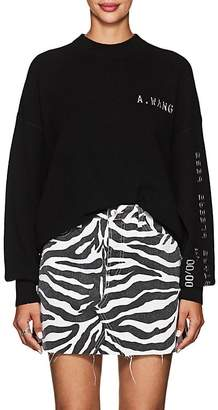 Alexander Wang Women's Embellished Wool-Blend Crewneck Sweater
