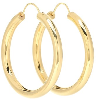 Theodora Warre Gypsy 18-kt gold-plated hoop earrings