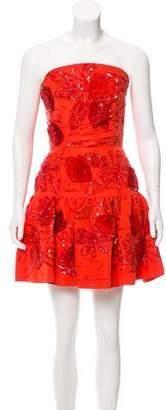 Oscar de la Renta 2016 Embellished Dress