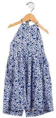 Rachel Riley Girls' Motif Halter Dress