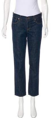 Genetic Los Angeles Mid-Rise Straight-Leg Jeans
