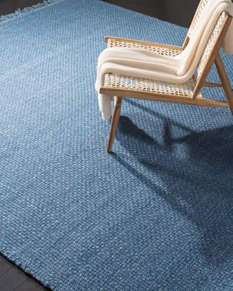 Lauren Ralph Lauren Amalie Blue Hand-Woven Flat Weave Rug, 9' x 12'