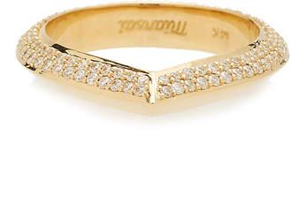 Miansai 14K Gold Diamond Ring