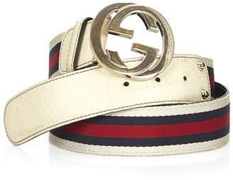 Gucci Vintage Double G Belt