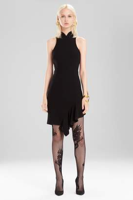 Natori Josie Knit Crepe Dress