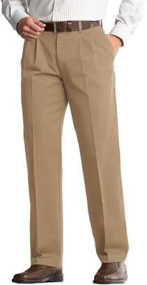 Lee Men's Comfort Fit Classic-Fit Pleated Pants