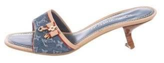 Louis Vuitton Monogram Idylle Slide Sandals