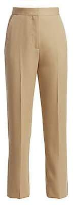 Burberry Women's Slim Wool Trousers