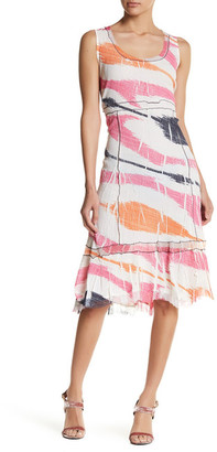 KOMAROV Scoop Neck Tank Dress $272 thestylecure.com
