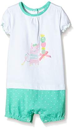 3 Pommes Baby-Girls Sweet Caraïbes Dungarees,9