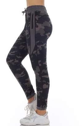 Bsp S2 Sportswear Women's Athleisure Camo Joggers