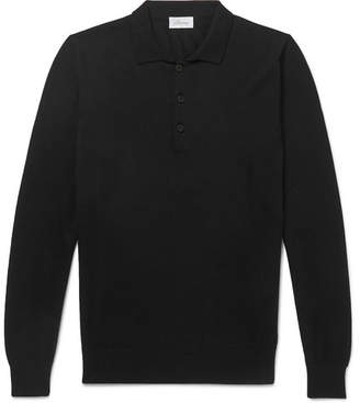 Brioni Cashmere Polo Shirt