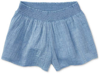 Polo Ralph Lauren Cotton Chambray Shorts, Toddler Girls (2T-4T)