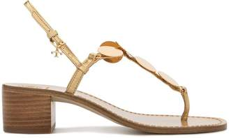 Tory Burch block heel sandals