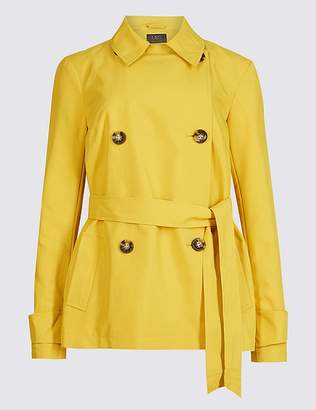 Marks and Spencer Double Breasted Trench Coat with StormwearTM