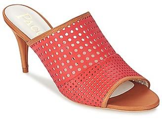 Paco Gil MAJA women's Mules / Casual Shoes in Orange