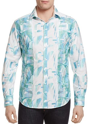 Robert Graham Limited Edition Sim Pier View Classic Fit Button-Down Shirt $398 thestylecure.com