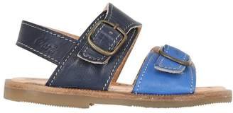 Ocra Nappa Leather Sandals