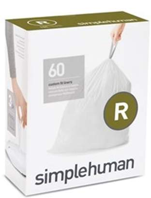 Simplehuman Code R Custom Fit Bin Liners 3 x 20 Pack CW0253