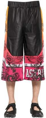 Gradient Printed Nylon Shorts