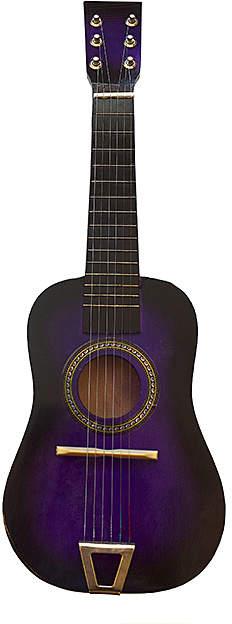 Purple Classic Acoustic Guitar