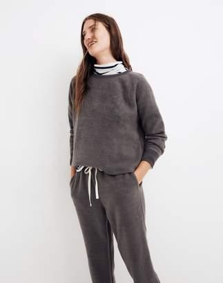 Madewell Fleece Pajama Sweatshirt