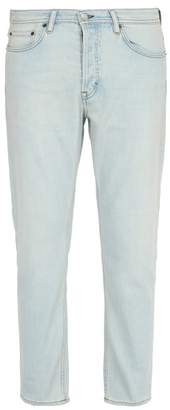 Acne Studios Max Slim Fit Stretch Cotton Jeans - Mens - Light Blue