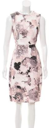 Calvin Klein Collection Floral Neoprene Dress