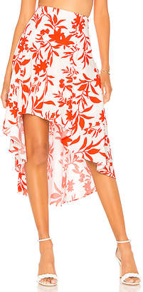 The Jetset Diaries Tiare High Low Skirt