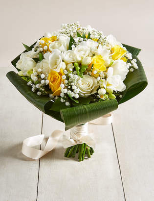 Marks and Spencer Yellow & White Rose & Freesia - Large Wedding Party Package