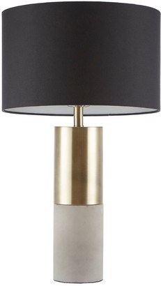 Fulton Madison Park Signature Concrete Table Lamp