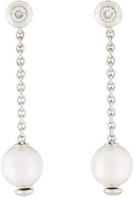 Mikimoto 18K Pearls In Motion Earrings