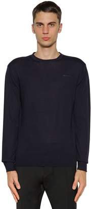 DSQUARED2 Wool Knit Crewneck Sweater