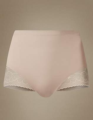 Marks and Spencer Secret SlimmingTM Floral Lace Low Leg Knickers