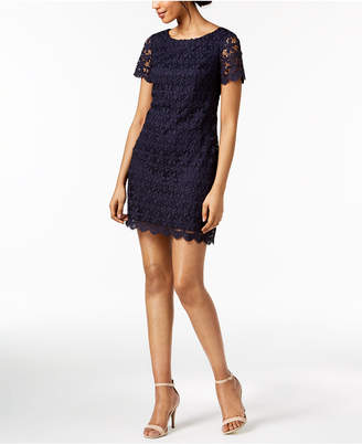 Jessica Howard Lace Sheath Dress, Regular & Petite