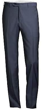 Canali Men's Twill Wool Trousers