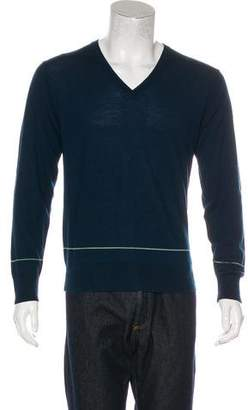 Paul Smith Wool V-neck Sweater