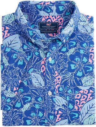 Vineyard Vines Short-Sleeve Pineapple Classic Murray Shirt