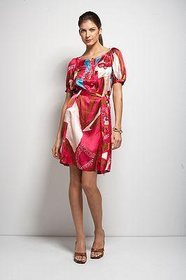 Margot Dress in Ko Samui or Summer Paisley Hyacinth