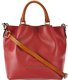 Dooney & Bourke Smooth Leather Small Barlow Satchel $328 thestylecure.com