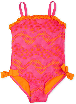 Penelope Mack 1-Pc. Crochet Swimsuit, Baby Girls (0-24 months) $20 thestylecure.com