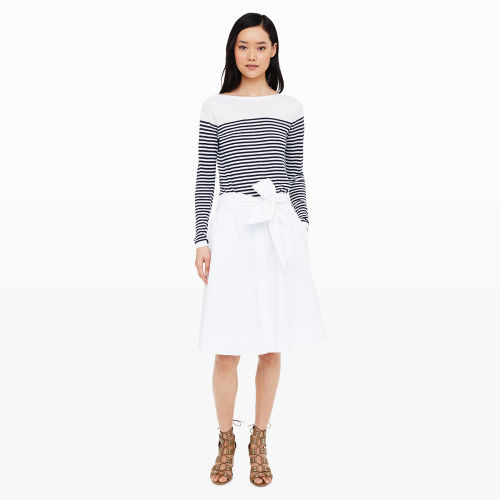 Club Monaco Gheraldina Cotton Skirt