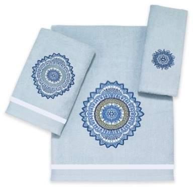 Avanti Boho Bath Towel in Aqua