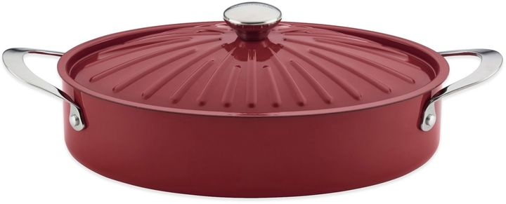 Rachael Ray CucinaTM 5 qt. Hard Enamel Covered Oval Sauteuse