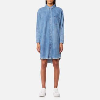 Selected Women's Petra Long Sleeve Denim Dress