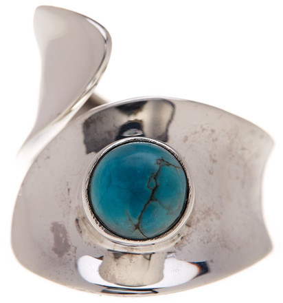 Exex Design Jewelry Sterling Silver Denpasar Turquoise Ring