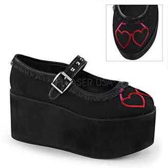 Demonia Women's Cli02-1/bca Sandal