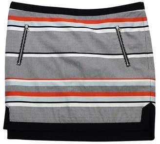 L.A.M.B. MultiColor Striped Cotton Skirt $68.99 thestylecure.com