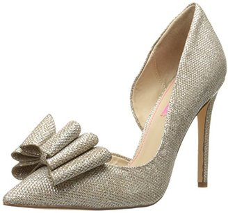 Betsey Johnson Women's PRINCE d'Orsay Pump $69 thestylecure.com